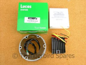High Output Alternator Kit, Genuine Lucas, Classic British Bike, 12v